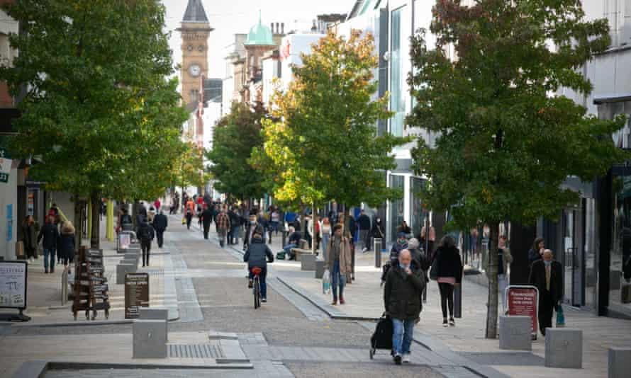 Preston city centre.