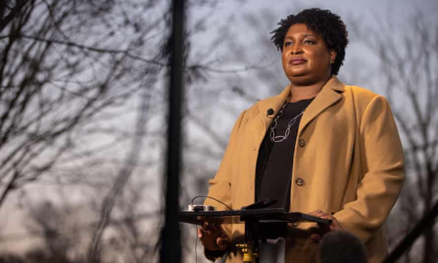 Stacey Abrams: the 2018 Democratic nominee for governor of Georgia and author of While Justice Sleeps
