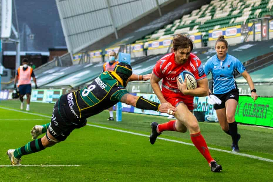 Sale on their way to victory at Northampton