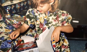 Guardian games contributor and Gadget Show presenter Jordan Erica Webber opening up a GameBoy, age 4