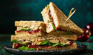The No Turkey Feast sandwich by M&S.