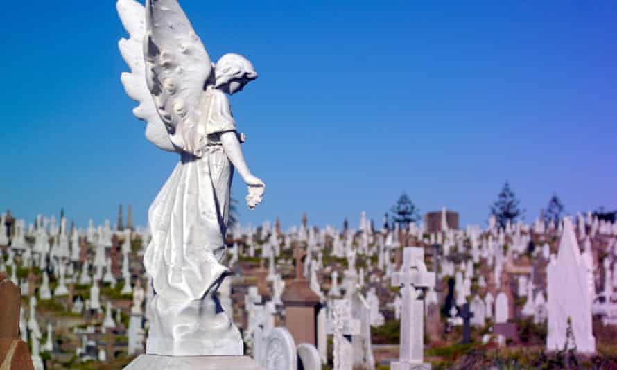 Graves at Sydney's Waverley cemetery
