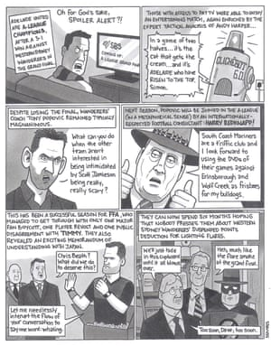 David Squires on     the end of the A-League season | Sport