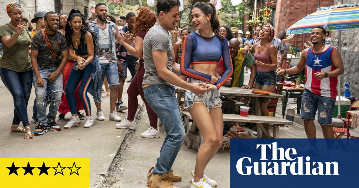 In the Heights review – Lin-Manuel Miranda musical loaded with Sunny-D optimism