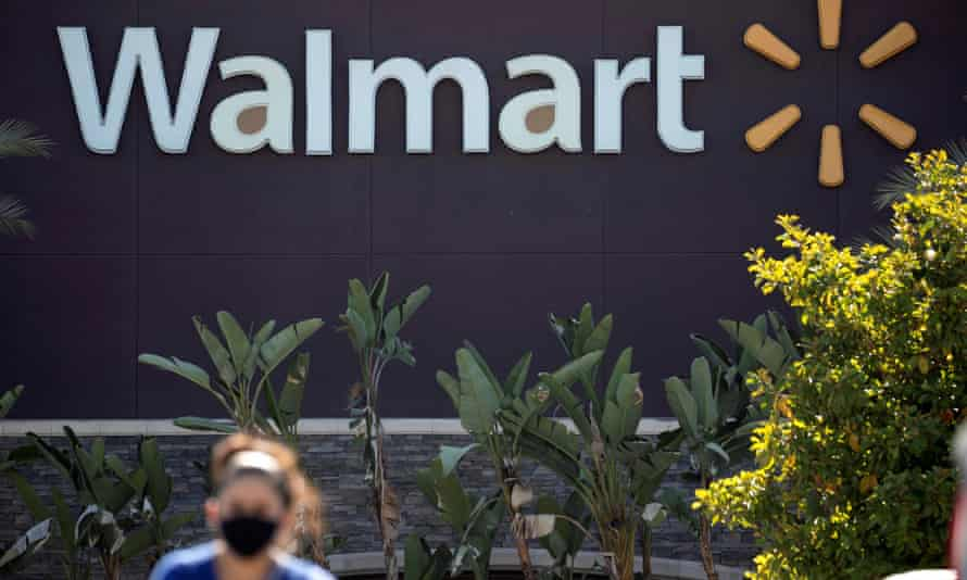 The Walmart Superstore in Rosemead, California.