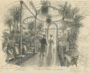 Design for A Place of One's Own glass house entrance hall