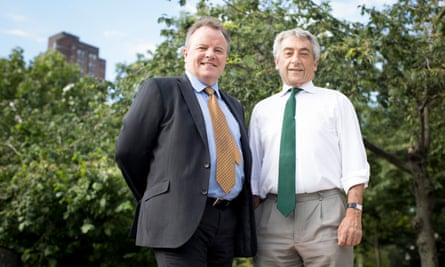 Shaun Murphy and Gerald Shamash (right) of law firm Edwards Duthie Shamash warn that solicitors with knowledge of local communities will disappear.