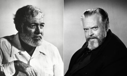 Ernest Hemingway and Orson Welles were supposedly great friends, but a 1973 script casts doubt on that.