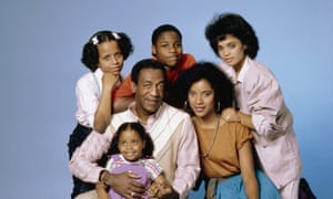 The cast from the first season of The Cosby Show