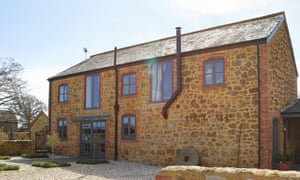 The mill's honey-coloured exterior