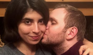 British student Matthew Hedges and his wife Daniela Tejada reunited back in the UK on Tuesday 27 November 2018