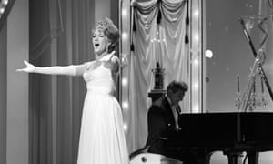 Marni Nixon, perfoming on The Hollywood Palace television show (with Liberace on piano) in 1966.