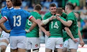 c7a1aaec305 Italy 16-26 Ireland: Six Nations – as it happened | Sport | The Guardian