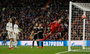 Ajax's Lasse Schone scores their fourth goal.
