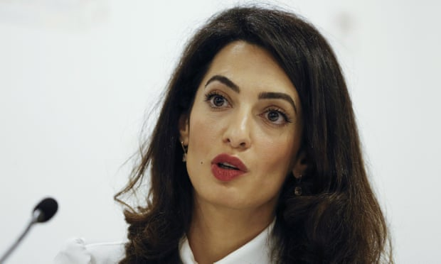 Amal Clooney to represent two Reuters journalists detained in Myanm
