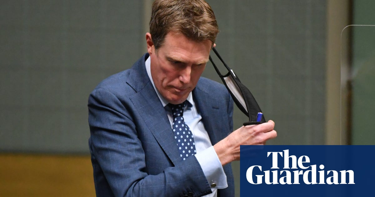 Christian Porter takes 'appropriate action' by quitting as minister, Scott Morrison says