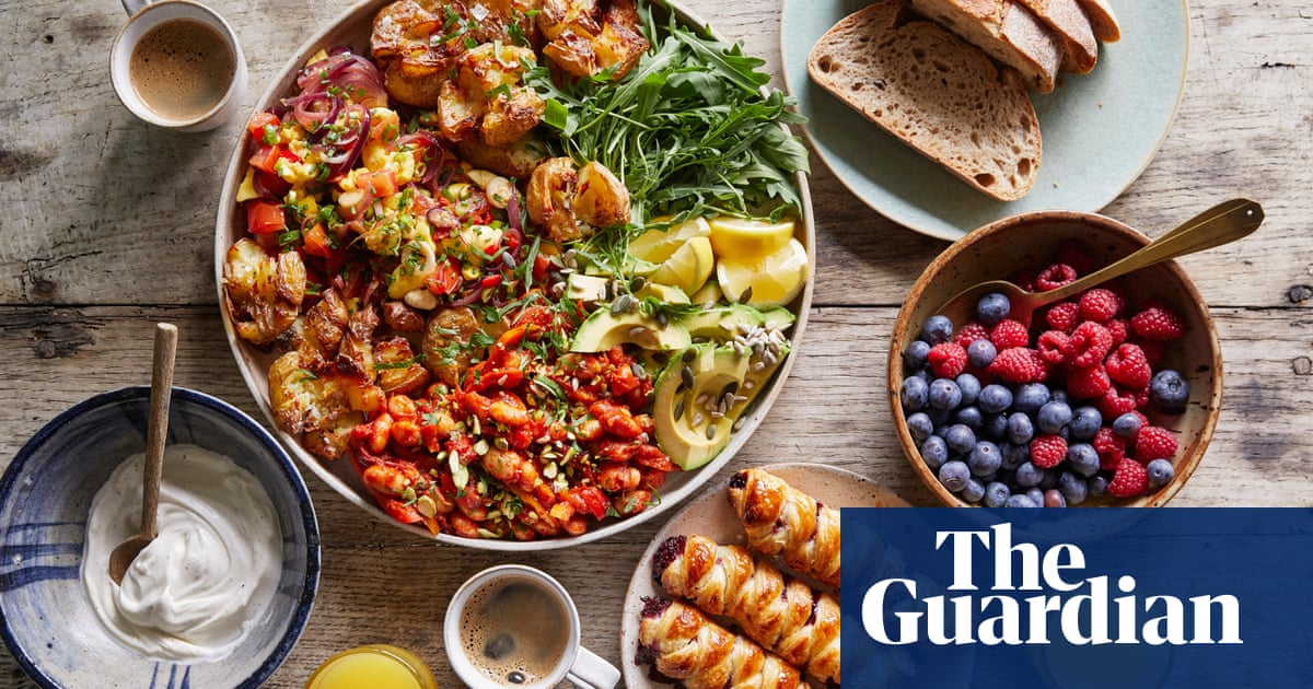 Rachel Ama's big vegan brunch –recipes