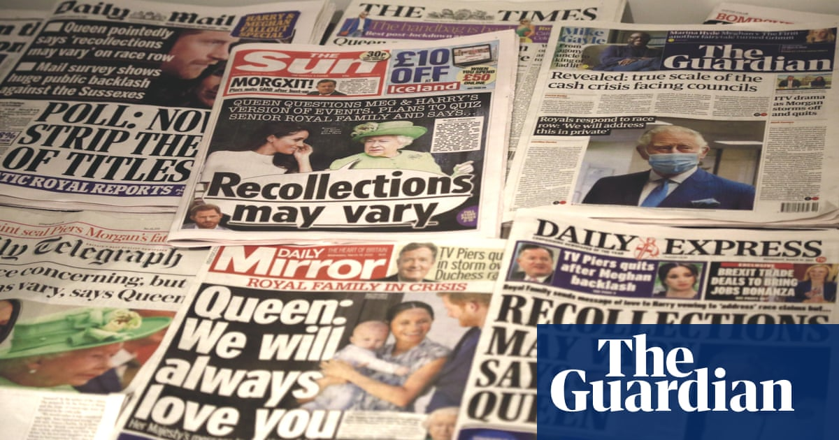 Society of Editors steps back from claim racism no part of Meghan coverage