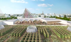 The new rooftop farm in Paris will be the largest of its kind in the world.