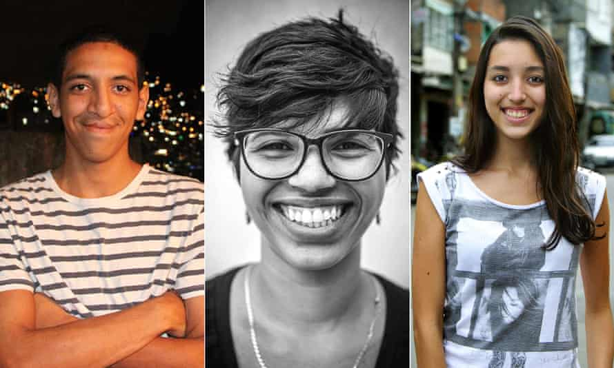 Michel Silva, reporting from Rocinha. Daiene Mendes, reporting from Alemão. Thaís Cavalcante, reporting from Maré.