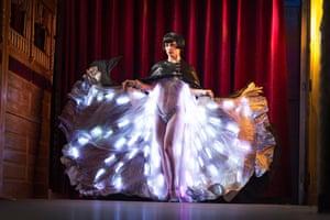 Vicky Butterfly – part Burlesque starlet, part performance artist, part music-hall Vaudevillian