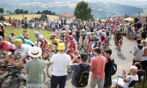 The Tour de France 2017 passes just before the Col de Peyra Taillade (1,190 metre), the final category 1 hill before arriving at Le Puy-en-Velay