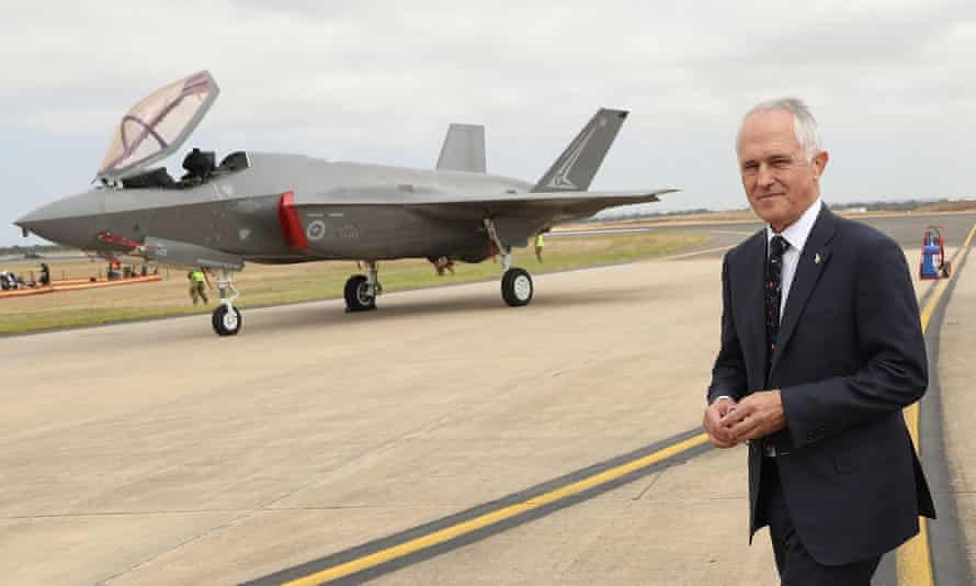 Malcolm Turnbull at the Avalon airshow