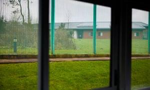 An NHS secure mental health unit.