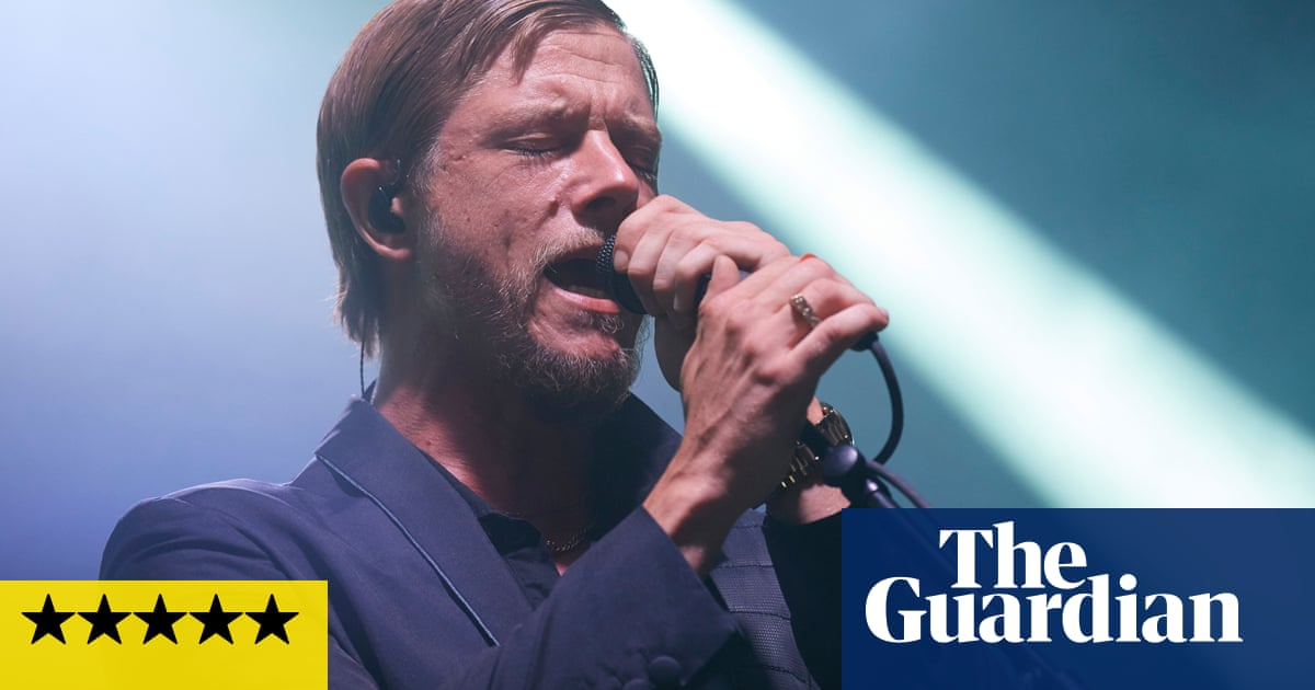 Interpol review – joyful look back at noughties New York rock