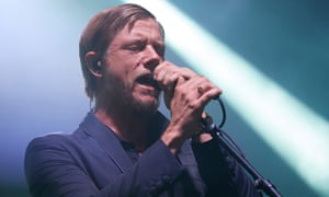 Paul Banks of Interpol performs Berlin last month.