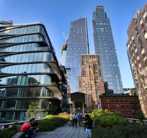 New York's High Line park.