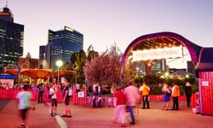 The Fringe World festival in Perth
