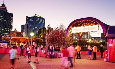The Fringe World festival in Perth
