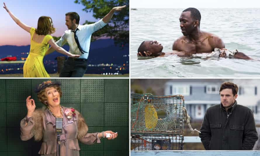 La La Land, Moonlight, Manchester by the Sea and Florence Foster Jenkins