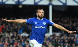 Cenk Tosun was not even in the squad for Everton's win at Burnley.