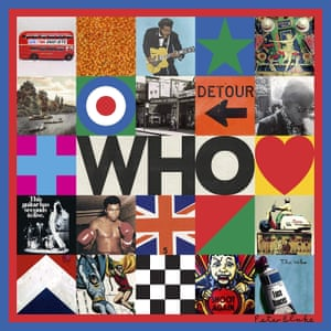 The Who: Who album art work