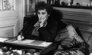 Colette at home in Paris, circa 1940. (Photo by Hulton Archive/Getty Images)