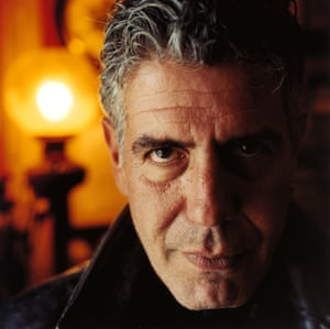 Anthony Bourdain show in Cork, Ireland for Observer Food Monthly in 2006
