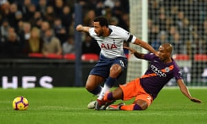 Fernandinho dominated the midfield battle at Wembley while players like Mousa Dembélé struggled to have an impact for Spurs.