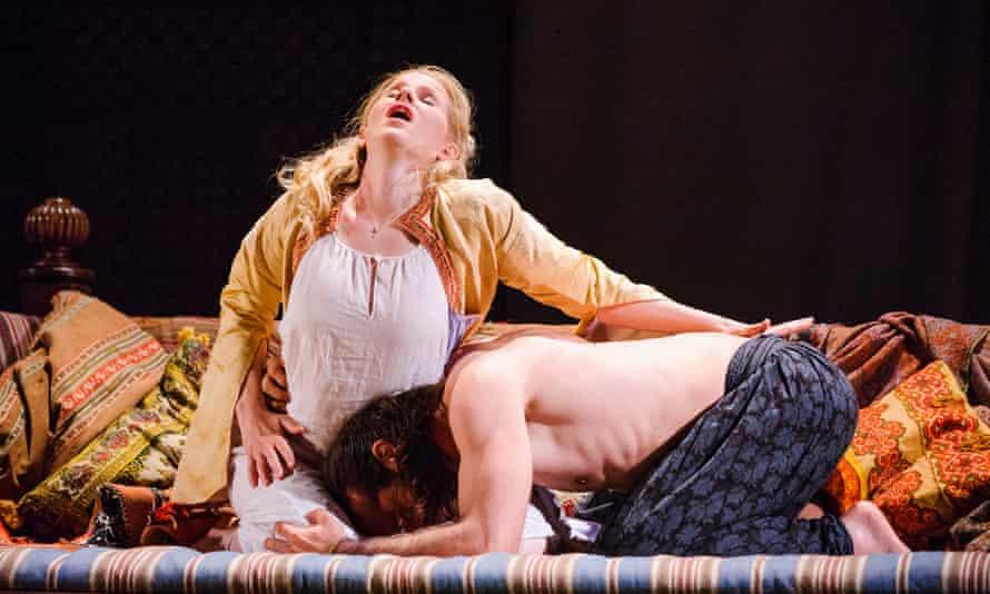 Sally Matthews and Franck Saurel in Die Entfuhrung aus dem Serail at Glyndebourne.