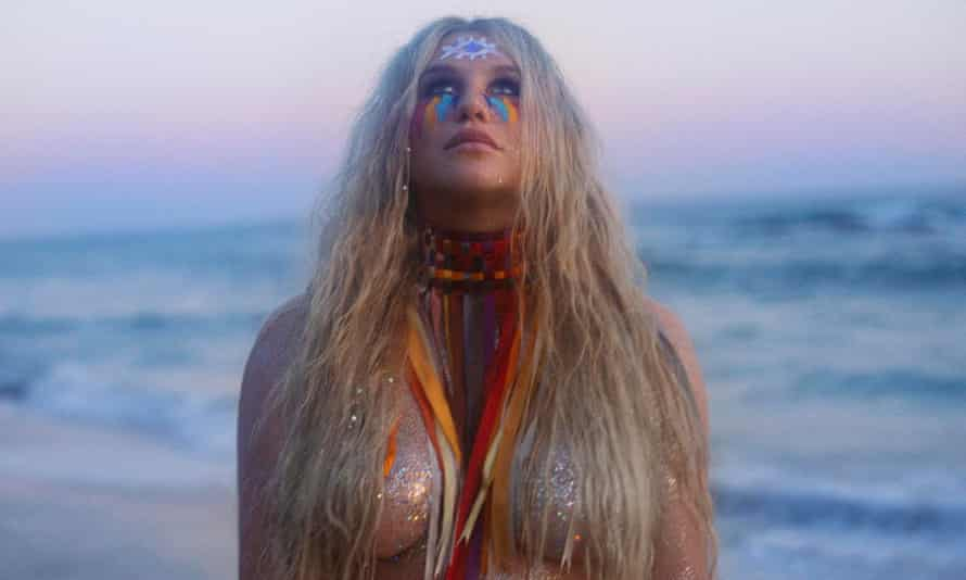 'Sorry for being emotional' … at the playback interview, Kesha's comments were open and frank