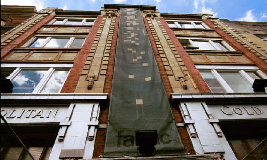 Fabric nightclub in Farringdon.