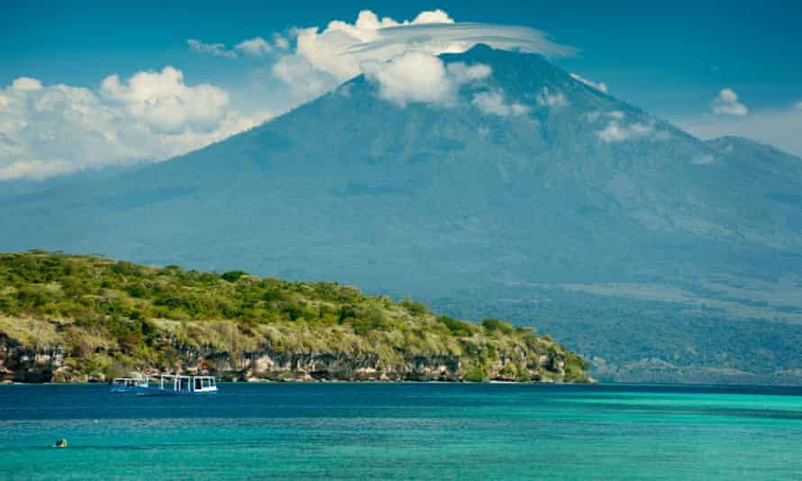 Menjangan Island is a small island, in north-west of Bali.