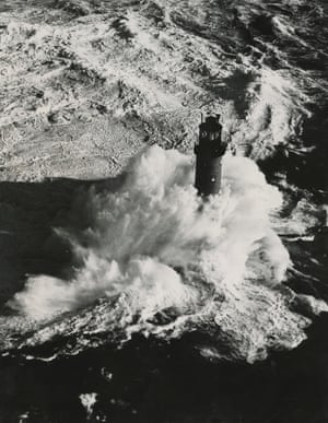 The Wolf Rock lighthouse, eight miles off Land's End. Built over a gruelling decade between 1860 and 1870, this tower was notorious among keepers as a place of incarceration.
