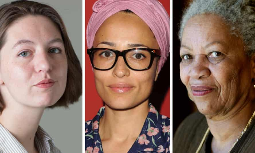 Sally Rooney, Zadie Smith, and Toni Morrison