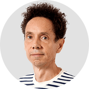 Malcolm Gladwell. Circular panelist byline.DO NOT USE FOR ANY OTHER PURPOSE!