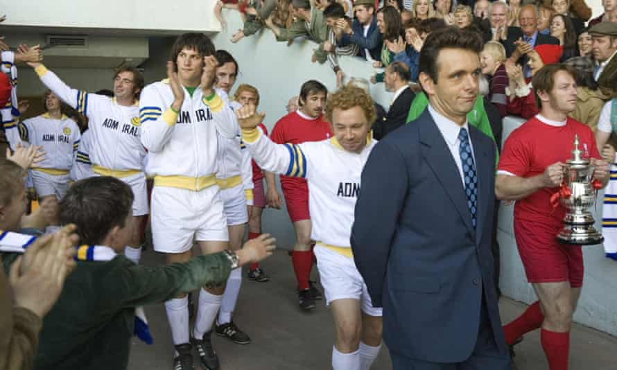 As Brian Clough in The Damned United.