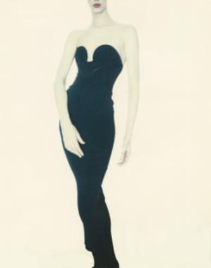 Paolo Roversi Meg, Alaïa Dress, 1988