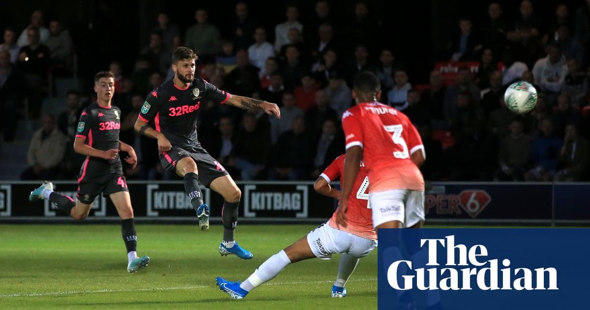 Mateusz Klich magic helps Leeds breeze past Salford City in Carabao Cup