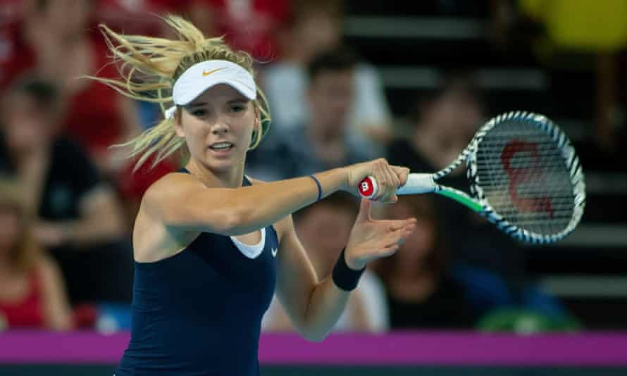 Katie Boulter impressed in the Fed Cup for Britain but could now miss the next two grand slams.